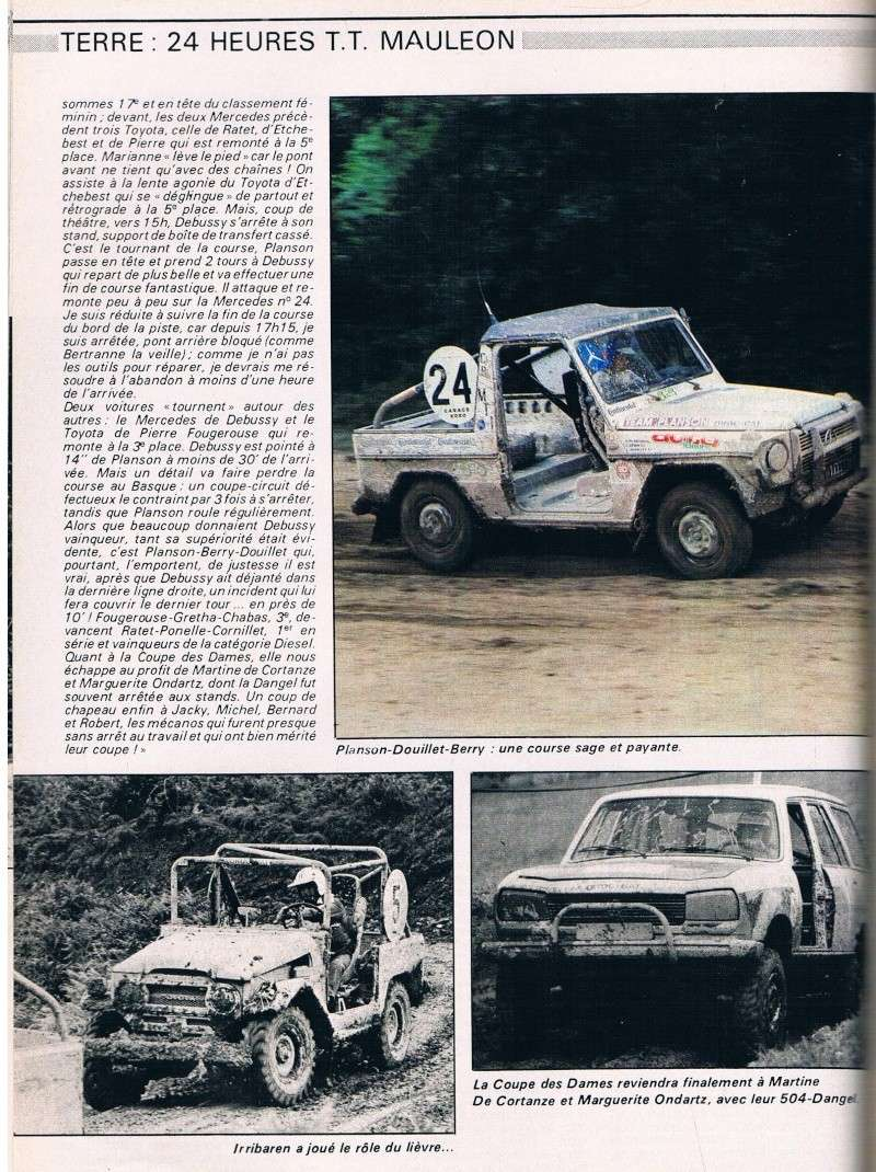 24H de Lambarre 1981 Junior38