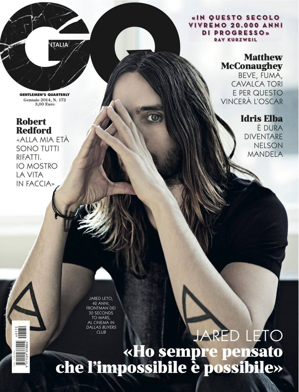 Jared Leto @ GQ Italy - janvier 2014 Cover10
