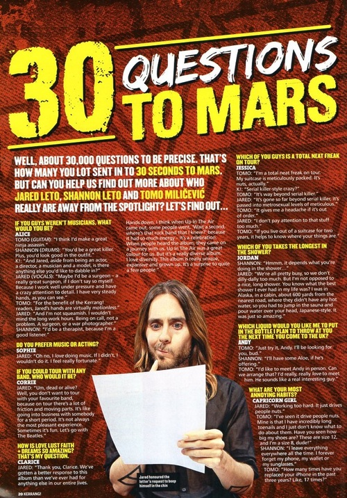 30 Questions To Mars - Karrang! (issue 1500) Tumblr33