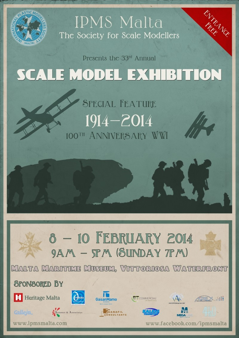 Scale Model Exhibition 2014 Poster 2014_f10