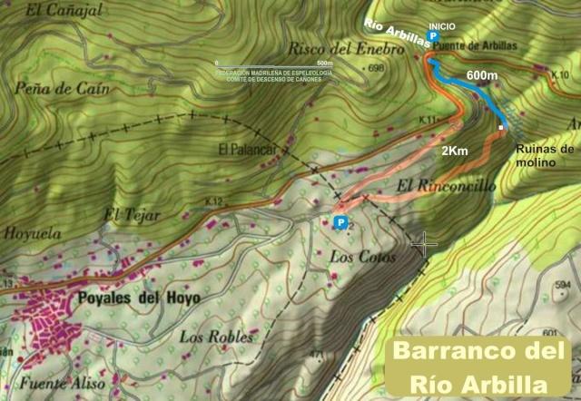 Barranco del Río Arbillas (Ávila) Barran13
