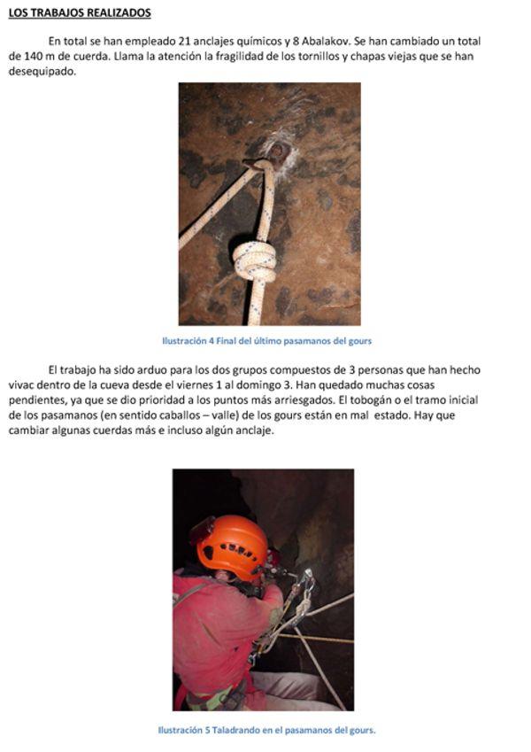 Reequipación de la parte media entre Caballos y La Canal Reequi24