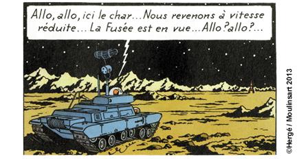 LE CHAR LUNAIRE DE TINTIN - EDITION ATLAS Visuel10