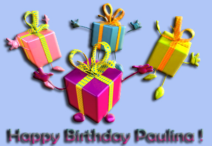 Happy Birthday Paulina Geldge10