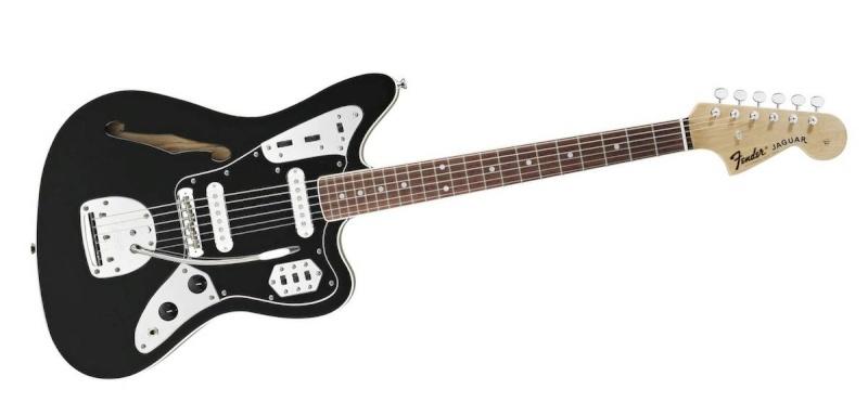type fender jaguar thinline avec vibrola Fender10