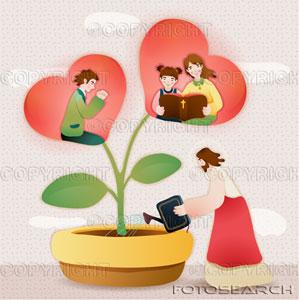 Comment prier pour nos enfants ?  Fleur-10