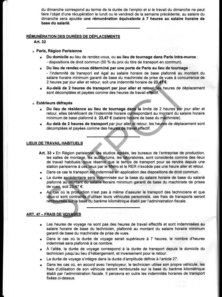 Barème des salaires minima au 1er janvier 2014 Image21