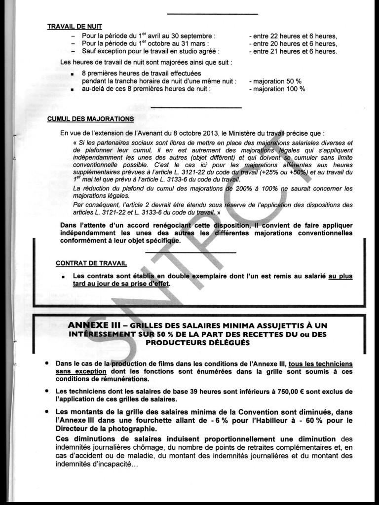 Barème des salaires minima au 1er janvier 2014 Image22