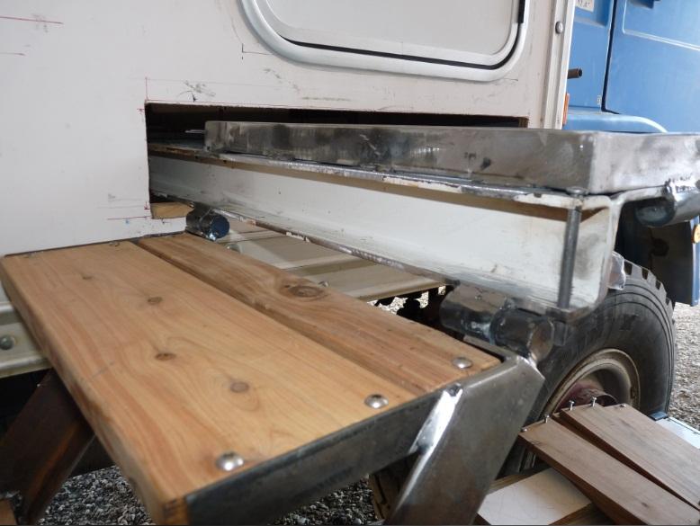 camping car à partir d'un Renault 110-170 4x4 : A7110