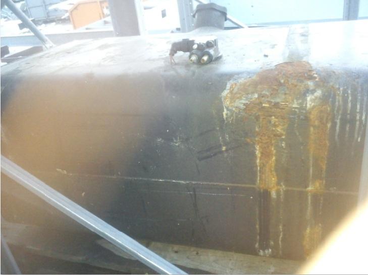 réparation d'un réservoir de gasoil ? Fr5410