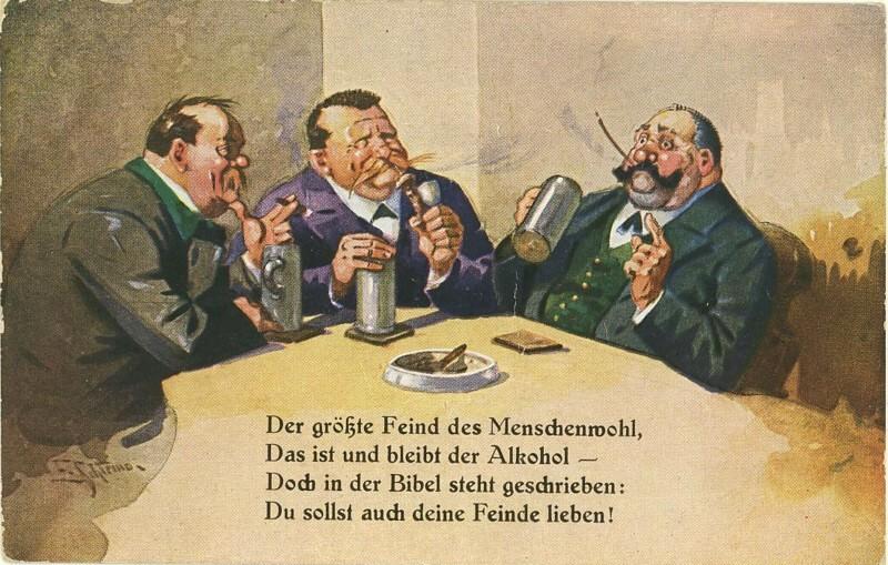Volksdroge Alkohol - Ernstes und Heiteres 0410