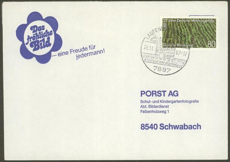 Bundesrepublik Deutschland  -  Einzel- und Mehrfachfrankaturen 134510