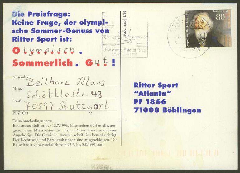Bundesrepublik Deutschland  -  Einzel- und Mehrfachfrankaturen 182610