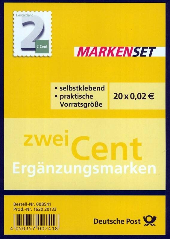 Erhöhung des Briefportos zum 1.1.2014 ( für Deutschland) 2_cent11