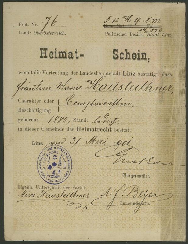 Heimat-Schein 31050110
