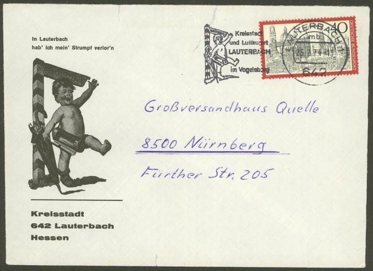 Bundesrepublik Deutschland  -  Einzel- und Mehrfachfrankaturen 78810