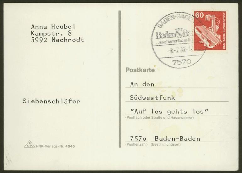 Bundesrepublik Deutschland  -  Einzel- und Mehrfachfrankaturen 99010