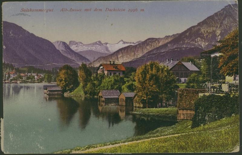 Österreich  -  Alte Ansichtskarten Alt-au10