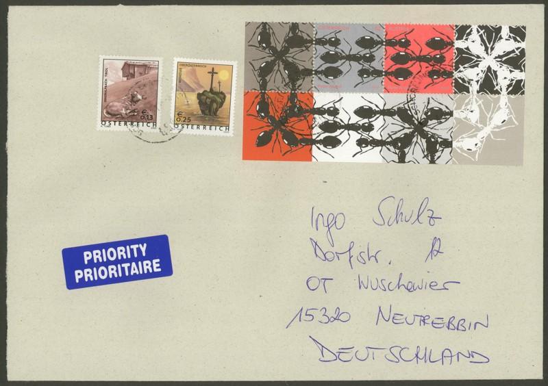 Briefmarken mit durchlaufenden Markenbild - Seite 2 Ameise10