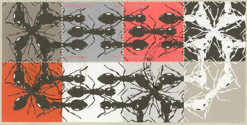 Briefmarken mit durchlaufenden Markenbild - Seite 2 Ameise11