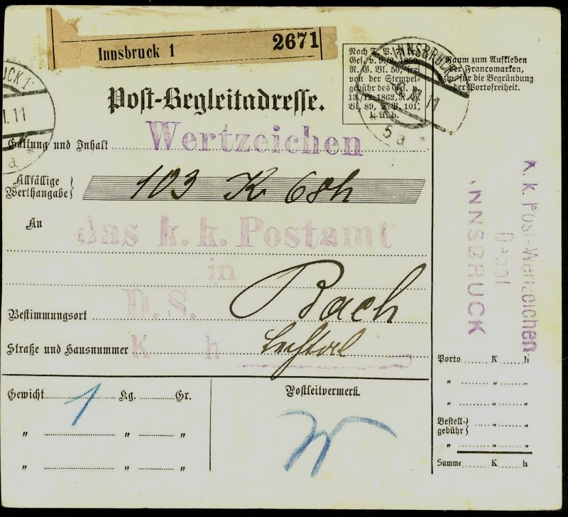 Buchprojekt HILFE - Stempel aus Innsbruck auf Belegen gesucht At_pbe10