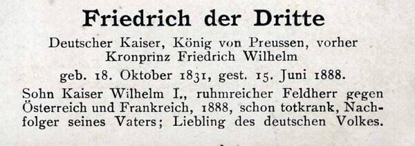 Sammlung Persönlichkeiten des 19. Jahrhunderts Friedr11