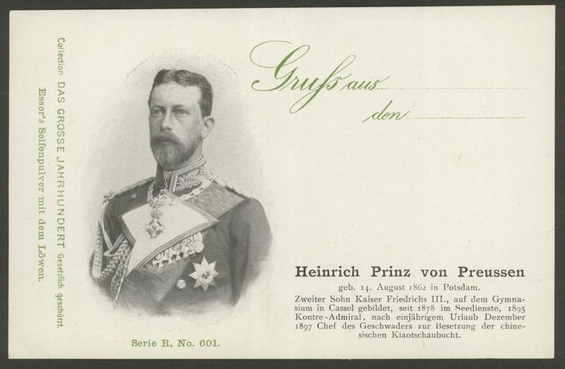 Sammlung Persönlichkeiten des 19. Jahrhunderts Heinri10