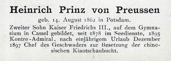 Sammlung Persönlichkeiten des 19. Jahrhunderts Heinri11