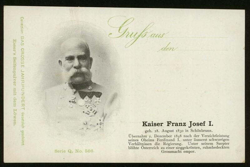 Sammlung Persönlichkeiten des 19. Jahrhunderts Kfj_i10