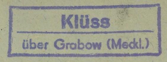 Deutschland  -  Landpoststempel (Poststellenstempel) Klass_10