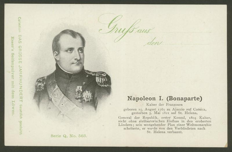 Sammlung Persönlichkeiten des 19. Jahrhunderts Napole10