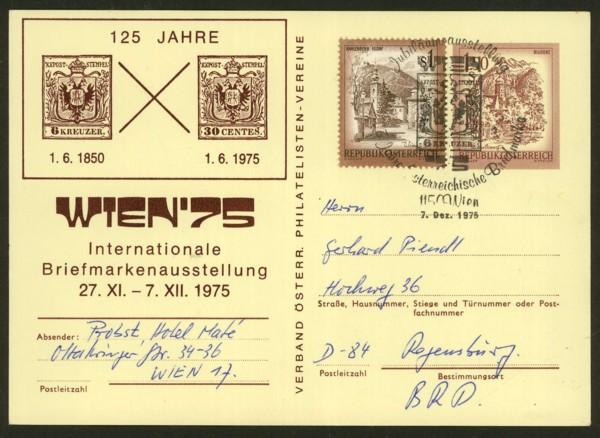 """schönes - Ganzsachen mit Wertstempel """"Schönes Österreich"""" P_441_34"""