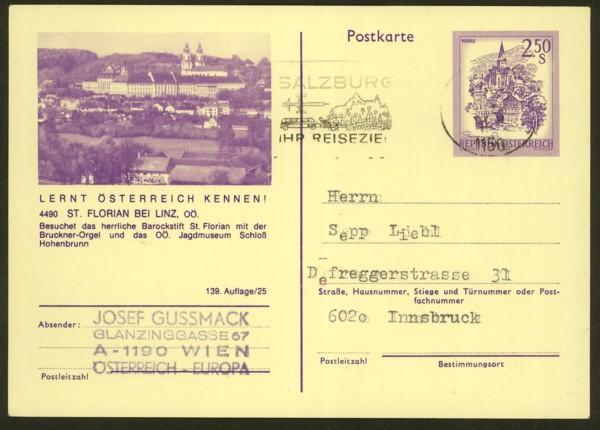 """schönes - Ganzsachen mit Wertstempel """"Schönes Österreich"""" P_446_24"""