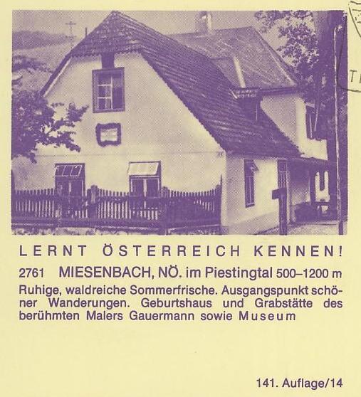 """schönes - Ganzsachen mit Wertstempel """"Schönes Österreich"""" P_446_35"""