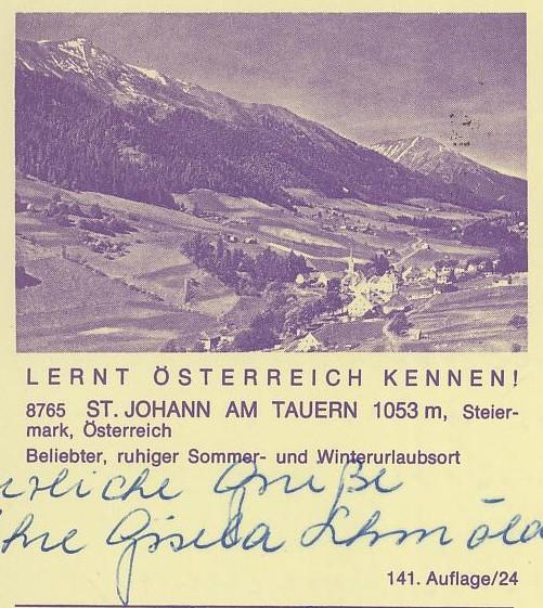 """schönes - Ganzsachen mit Wertstempel """"Schönes Österreich"""" P_446_37"""