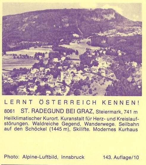"""schönes - Ganzsachen mit Wertstempel """"Schönes Österreich"""" P_446_49"""