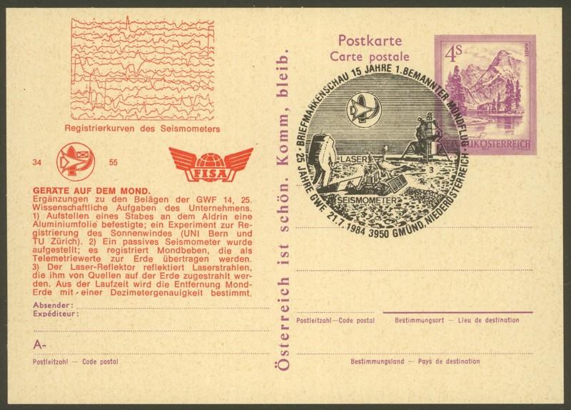 """Wertstempel """"Schönes Österreich"""" - Zudrucke auf Ganzsachen P_449_14"""