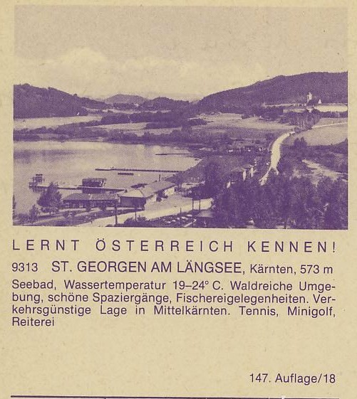 """schönes - Ganzsachen mit Wertstempel """"Schönes Österreich"""" P_451_15"""