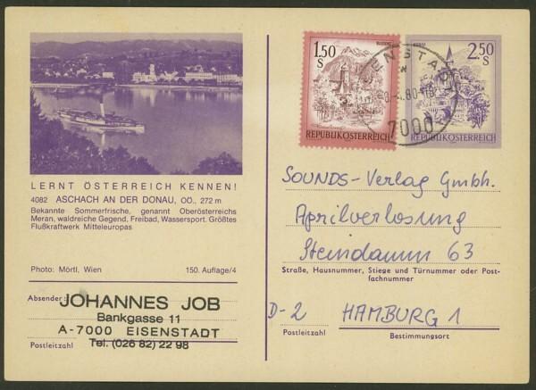 """schönes - Ganzsachen mit Wertstempel """"Schönes Österreich"""" P_451_34"""