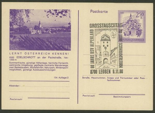 """schönes - Ganzsachen mit Wertstempel """"Schönes Österreich"""" P_451_44"""