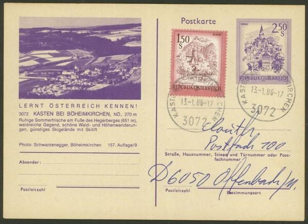 """Ganzsachen mit Wertstempel """"Schönes Österreich"""" - Seite 2 P_452_16"""