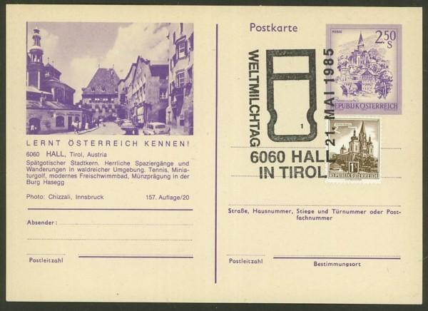 """Ganzsachen mit Wertstempel """"Schönes Österreich"""" - Seite 2 P_452_20"""