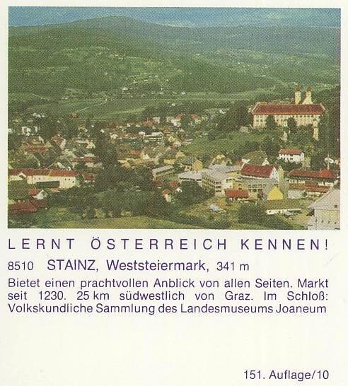 """schönes - Ganzsachen mit Wertstempel """"Schönes Österreich"""" P_455_13"""