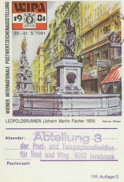 """schönes - Ganzsachen mit Wertstempel """"Schönes Österreich"""" P_456_11"""