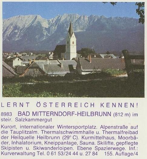 """schönes - Ganzsachen mit Wertstempel """"Schönes Österreich"""" P_456_13"""