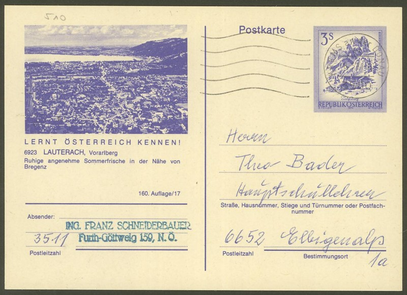"""Ganzsachen mit Wertstempel """"Schönes Österreich"""" - Seite 2 P_460_12"""
