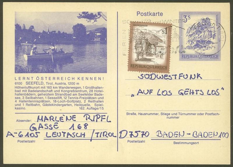 """Ganzsachen mit Wertstempel """"Schönes Österreich"""" - Seite 2 P_460_18"""