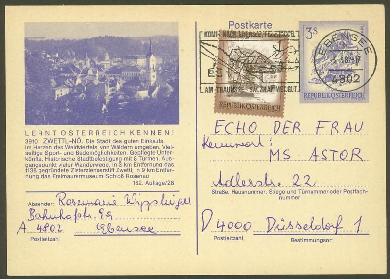 """Ganzsachen mit Wertstempel """"Schönes Österreich"""" - Seite 2 P_460_20"""