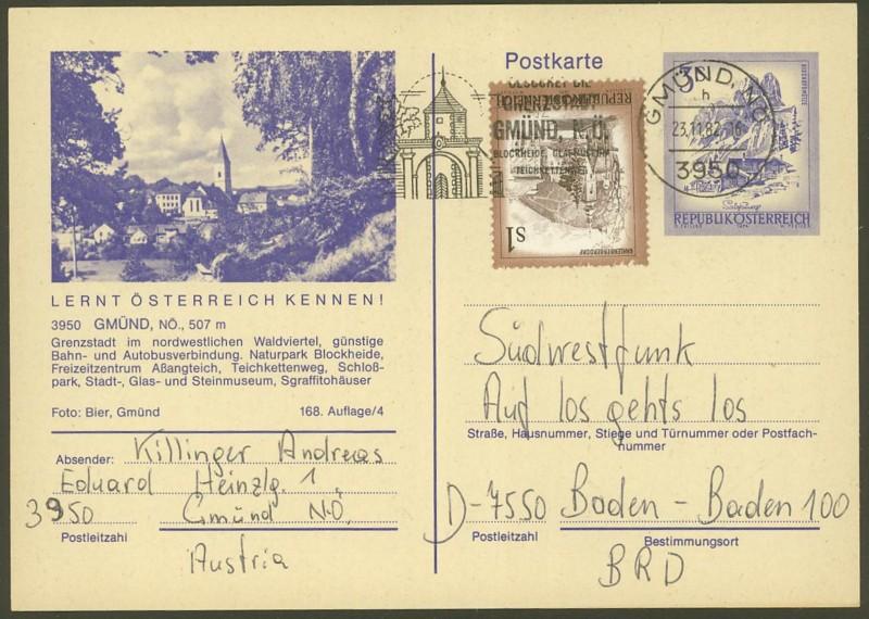 """Ganzsachen mit Wertstempel """"Schönes Österreich"""" - Seite 2 P_460_22"""