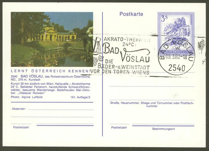 """Ganzsachen mit Wertstempel """"Schönes Österreich"""" - Seite 2 P_461_10"""